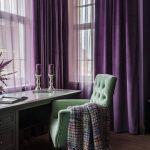 Pair of Hunter Green Velvet Curtains, Silky Velvet Curtains, Living Room Velvet Curtains, Custom Curtains