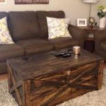 Pallet Coffee #Table + Storage #Chest - 14 Creative Pallet Furniture Ideas | 101...