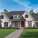 Plan 51778HZ: Open-Concept 4-Bed Craftsman Home Plan with Bonus Over Garage