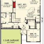 Plan 89860AH: Charming 2 Bedroom Ranch Home Plan
