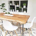 RENO Natural Solid acacia wood dining table 180cm | Struct - pickndecor.com/design