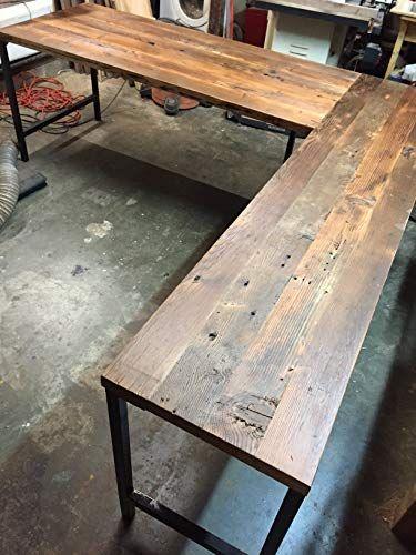 Reclaimed Wood Desk – TopDekoration.com