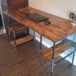Reclaimed Wood Industrial Desk, Rustic Desk, Industrial Pipe Desk, Executive office desk, Reclaimed wood desk, Office desk, Pipe Desk
