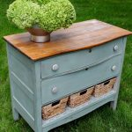 Repurposed Furniture - Thrift Store Dresser Makeover Ideas • The Budget Decorator