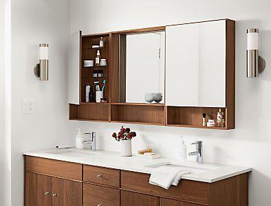 Room & Board –  Hudson Bathroom Vanity Cabinets with Top – Modern Bathroom Vanities – Modern Bath Furniture