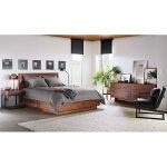 Room & Board -  Hudson Wood Storage Bed - Modern & Contemporary Beds - Modern Bedroom Furniture