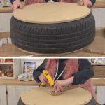 Rope Tire Ottoman | Genius Garden Hacks for Beginners | DIY Garden Ideas on a Bu...