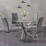Round dining sets are perfect for creating cosy dining and drinking hubs in your...