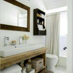 Rustic Custom Vanity Bathroom, Powder Room Dallas