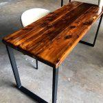 SALE! Reclaimed Wood & Steel Desk - Wood Office Desk - Desk