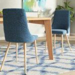 Sarita Upholstered Dining Chair Set of 2