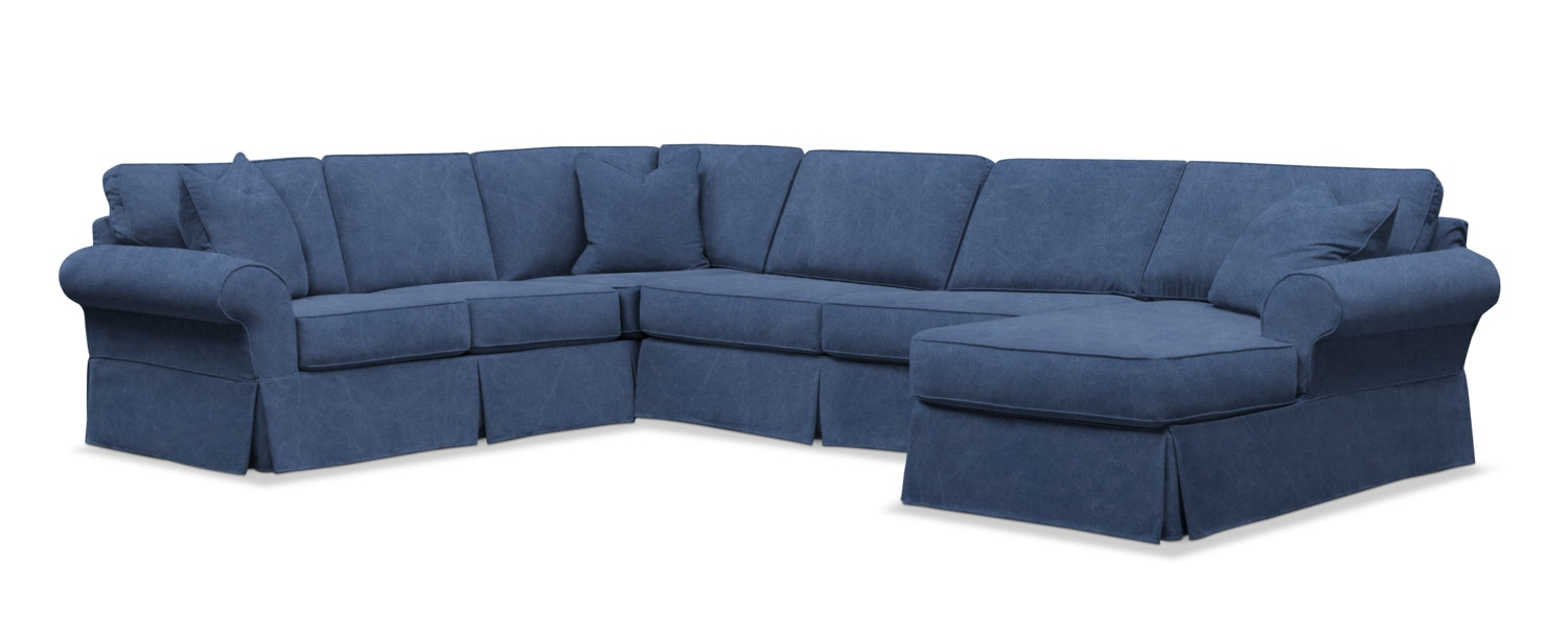 Sawyer 2-Piece Large Slipcover Sectional