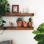 Shelf, Floating Shelf,  Wood Shelf, Wood Shelf, Wooden Shelves, Floating Shelves, Modern Home, Modern Kitchen Decor, Floating Shelf