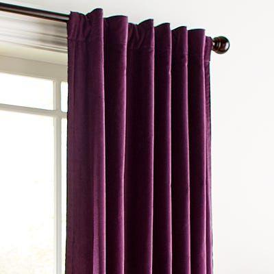 Sheridan Velvet Plum 84″ Curtain