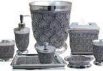 Silver Bathroom Accessories Sets Ideas