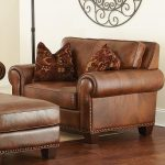 Silverado Traditional Chair and a Half with Nailhead Trim by Vendor 3985 at Becker Furniture World