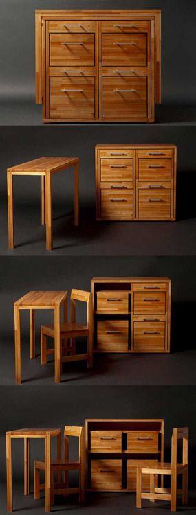Smart & Compact : Ludovico Furniture For Small Spaces   Freshome.com