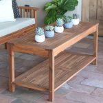 Sol 72 Outdoor Laverock Wooden Coffee Table   Birch Lane
