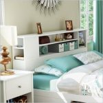 South Shore Breakwater Full / Queen Bookcase Headboard in White