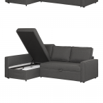 South Shore Live-it Cozy Sectional Sofa-Bed with Storage | South Shore Furniture United States