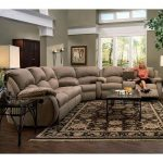 Southern Motion Cagney Sectional Sofa with Recliner LOOKS COMFY! 2019 Southern  ...