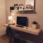 Study floating desk - https://pickndecor.com/interior