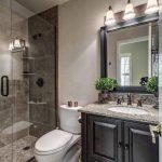 Stylish 3/4 bathroom.  #bathrooms #bathroomdesigns homechanneltv.com - pickndecor.com/design