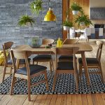 The Deakin Extending 2 Leaf Dining Table - Oak Dining Room Tables. Extends to 27...