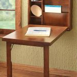 Thought for A's room = Furniture, Traditional DIY Wall Mounted Folding Desk With...