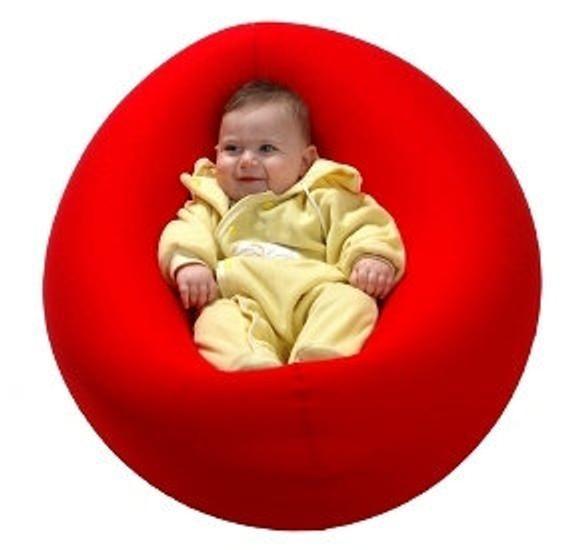 Tomtom Bean Bag Bags Baby Infant Newborn Childrens Bouncer Seat Rocker Chair Kids Room Furniture Boy Girl Blue Purple Red