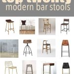 Top 20 Modern Kitchen Bar Stools | CC and Mike | Lifestyle and Design Blog