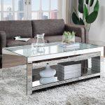 Venetian Worldwide Malish Silver Mirrored Coffee Table VA-83580 - The Home Depot