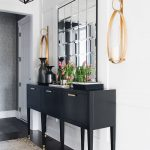 White and Black Foyer White and Black Foyer decor sources on Home Bunch #Whitean...