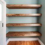 Wood Floating Shelves 16-inches Deep   Rustic Shelf   Farmhouse Shelf   Reclaimed Wood Floating Shelf   Handmade Shelf   Wood Wall Shelf