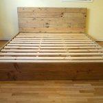 Wood Platform Bed Frame and Headboard | Simple Bed Frame | Bedroom Furniture | Rustic and Modern Bed Frame | Wood Bedroom Furniture