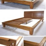 Yamaguchi Platform Bed Frame-Honey Oak
