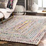 braided RAG RUG, rectangle rug, meditation mat, mandala rug bohemian decor, colourful area rug home decor rug floor rug Area rugs