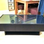 coffee table glass top display display coffee table full size of antique glass t...