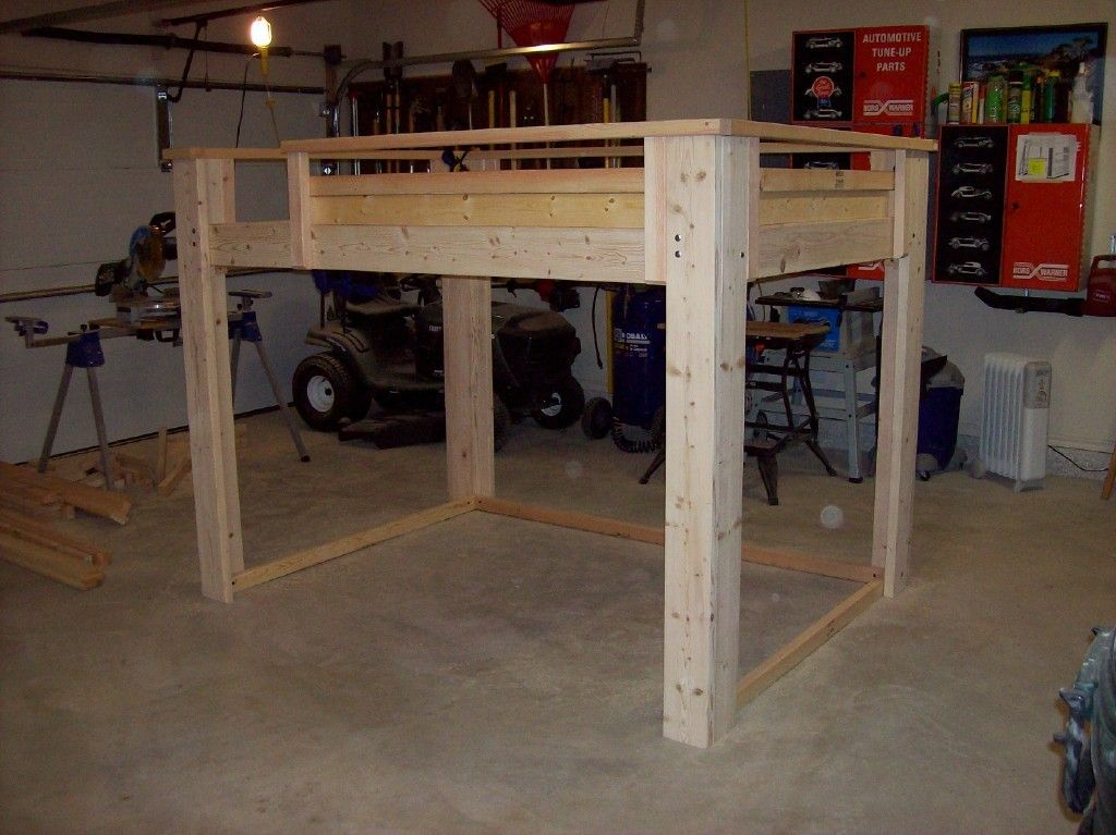 full-size-loft-bed-plans-for-adults — Modern Twin Bedding