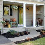 spring-front-porch #fallfrontporchdecor spring-front-porch
