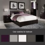 this is a similar color swatch to what are planning on, but two tones of purple ...