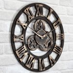 unique decorative wall clocks itsbodega home design tips 2017 inside decorative ...