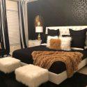 Black White And Gold Bedroom Decor