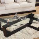 Modern Glass Center Table Design For Living Room